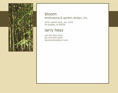 Bloom Landscaping